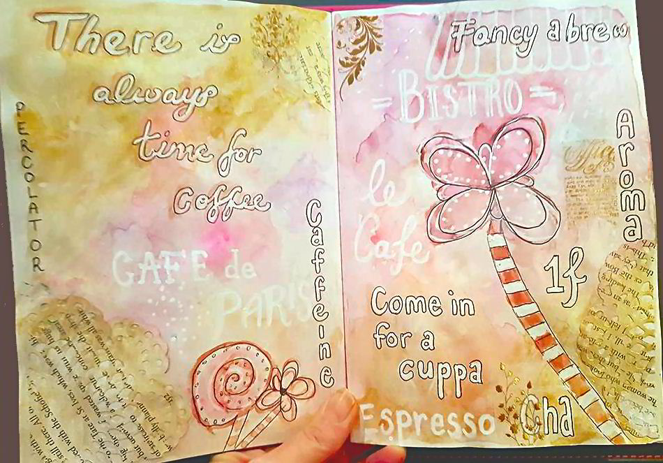 My Monthly Art Journal Creations - Kerrymay._.Makes