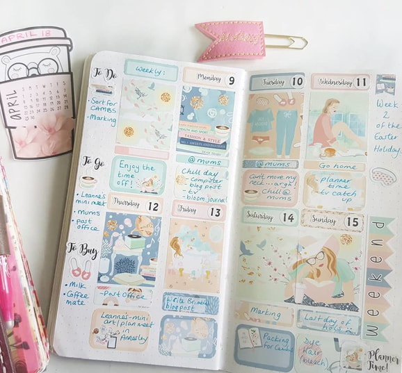 planner page ideas