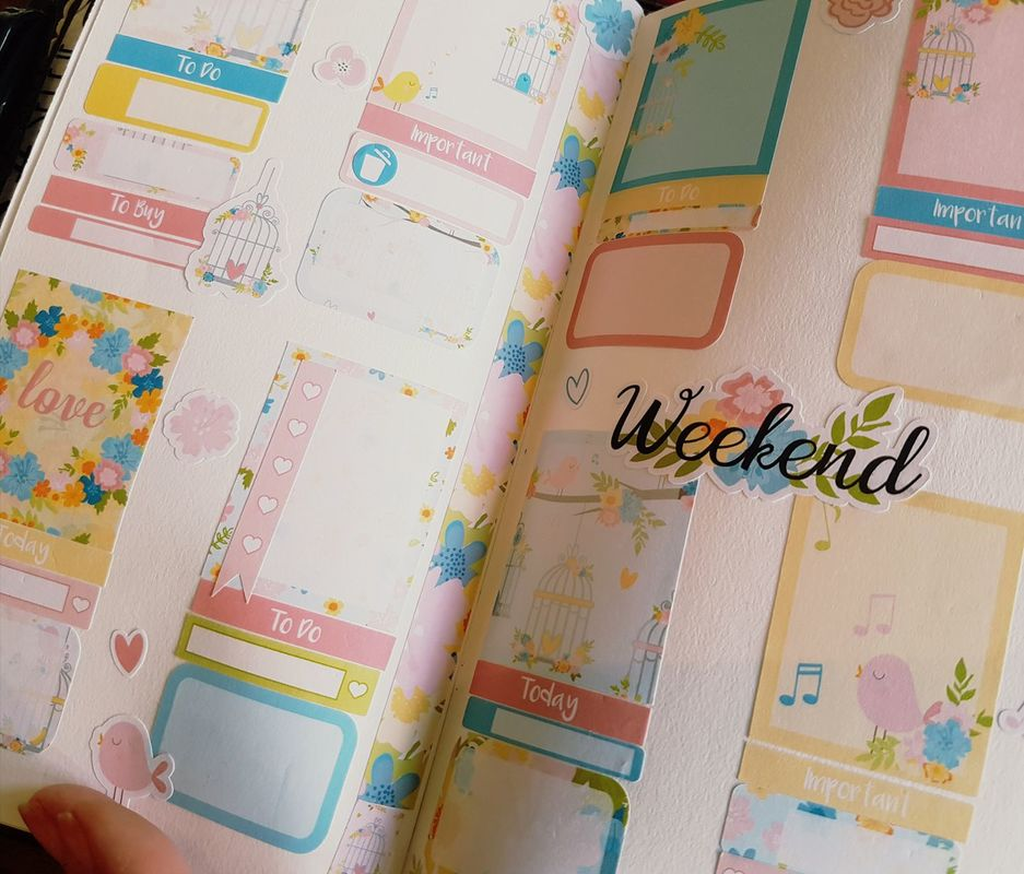 Hazy Days UK Mystery Kit Planner Layout - Kerrymay._.Makes