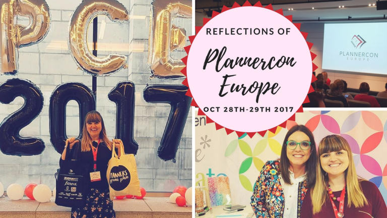Reflections of Plannercon Europe 2017 & a massive stationery haul, documenting my time at the amazing event in Brussels. Kerrymay._.Makes