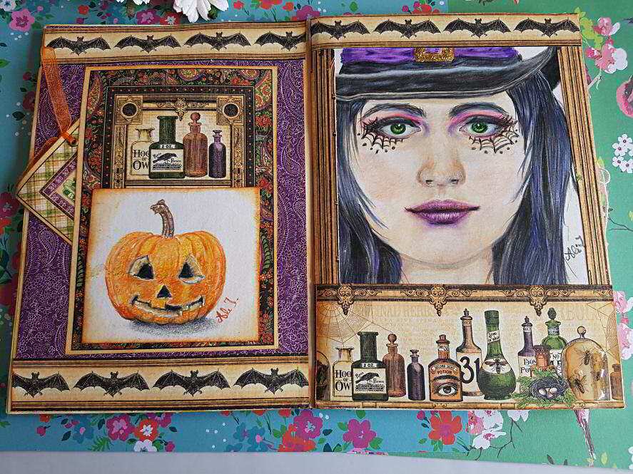 Completed Travelling Arallenge book and flip through from my t Journal ChFacebook group Kerrymay Makes A Mess #travellingartjournal #artjournal #artjournaling
