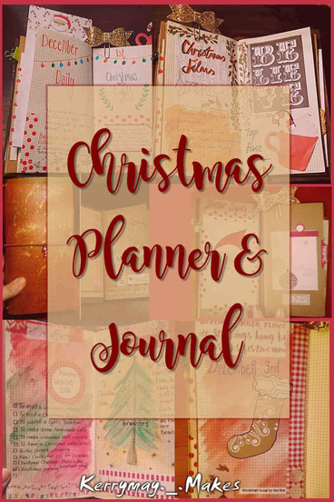 CHRISTMAS PLANNER & JOURNAL PEEK - Take a tour of my December Daily and Christmas Planner, complete with a video flip through - Kerrymay._.Makes