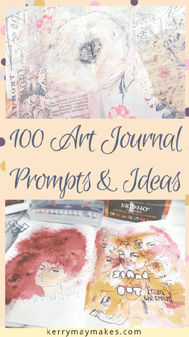 100 Art Journal Prompts and Journaling Ideas to inspire your creativity in your art journals, journaling and creative journals. Use them however you like, literally, for art, painting, watercolour, journal prompts or photographs for memory keeping.