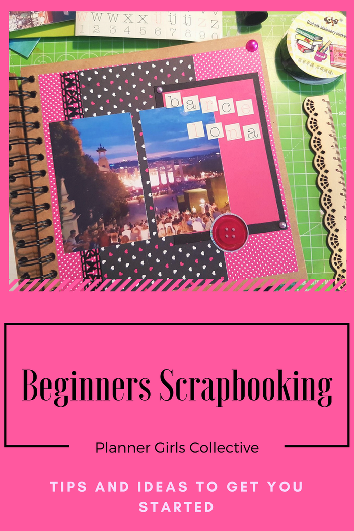 Tips for starting out scrapbooking and using your paper craft and smash book ideas in your layouts. Kerrymay._.Makes
