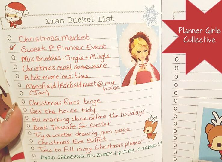 Planner Girls Collective - Christmas Bucket List - Kerrymay._.Makes