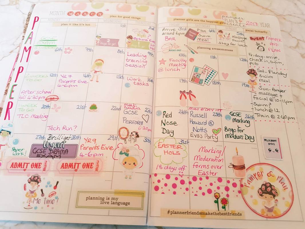 Monthly pages are often a neglected area of your planners or journals. Have a peek into my planner and see how plan my month. Kerrymay._.Makes