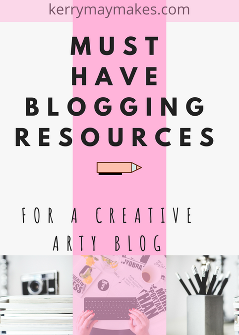My favourite blogging resources and art resources for my creative art and planning blog - Kerrymay._.Makes