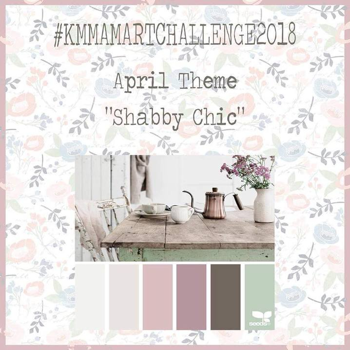 Aprils Art Journaling Challenge and New Journaling Card printables in my members freebie goodies area - #artchallenge #journalingcards Kerrymay._.Makes