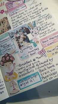 Creative Journaling and planner flip through of the Pamper and Plan weekend - Kerrymay._.Makes