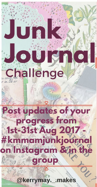 Junk Journal Challenge - Kerrymay._.Makes A Mess