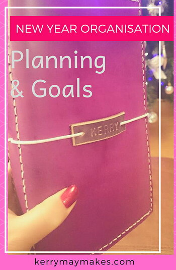 NEW YEAR ORGANISATION - BUJO PLANNING & GOALS - How I am planning and tracking my year Kerrymay._.Makes
