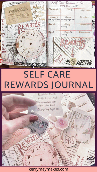 Rewards - My Self Care word of the year for 2019. Hard work does indeed reap rewards, I had a great year last year and wanted to incorporate working hard and rewarding myself into both my journaling and my Word of the Year. #selfcare #selfcarejournaling #selfcarejournal #wordoftheyear