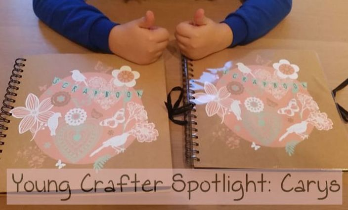 Young Crafter Spotlight: Scrapbooking - Kerrymay._.Makes