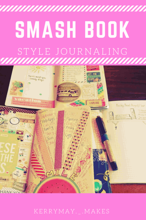Smashbook Journaling: How to make a smash book and 20 ways to use it (the 'stick anything' style of journaling and scrapbooking) - Kerrymay._.Makes