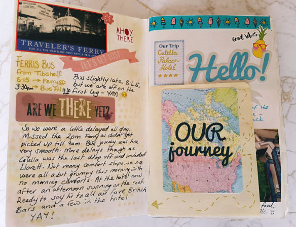 How to create a Travel Journal and how to set it up - Kerrymay._.Makes